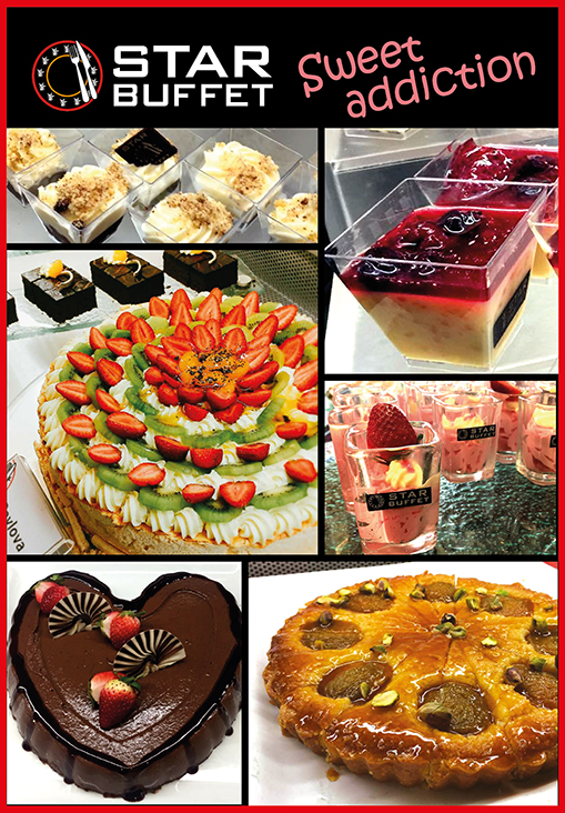 INDULGE YOURSELF IN STAR BUFFET MOUTH WATERING DESSERTS