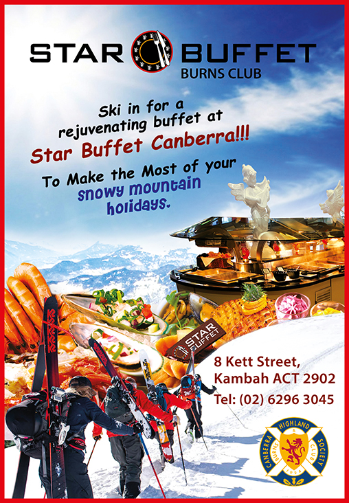 SKI IN FOR A REJUVENATING BUFFET AT STAR BUFFET CANBERRA