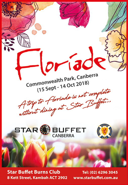 LET'S CELEBRATE FLORIADE AT STAR BUFFET CANBERRA