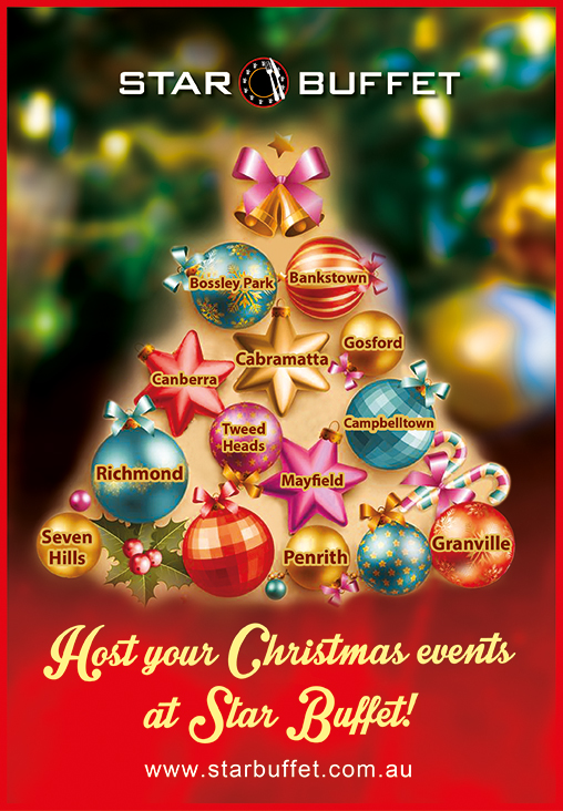 HOST YOU END OF YEAR EVENTS AT STAR BUFFET