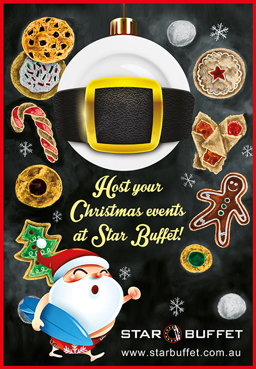 HOST YOUR CHRISTMAS EVENTS AT STAR BUFFET