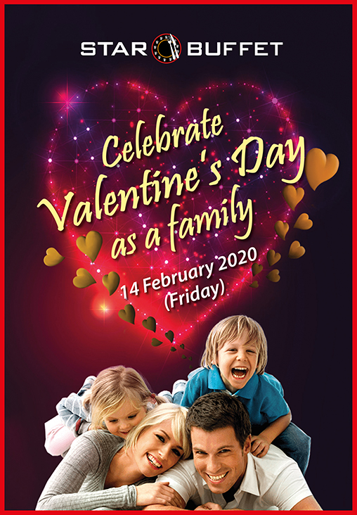 CELEBRATE VALENTINE'S DAY AT STAR BUFFET